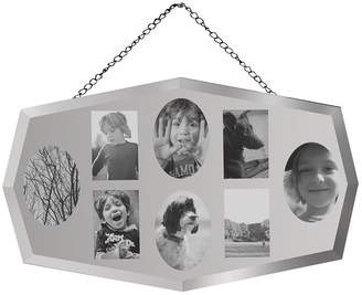 Gallery Mirrored 8 Aperture Collage Photo Frame