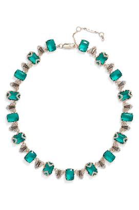 Jenny Packham Crystal Collar Necklace