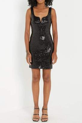 Soprano Black Sequin Dress