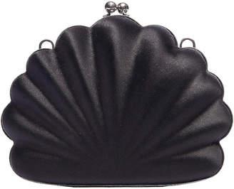 Balenciaga Shell Beads Clutch in Black | FWRD