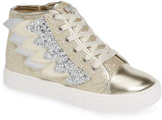 WellieWishers from American Girl Willa Winged Glitter High Top Sneaker