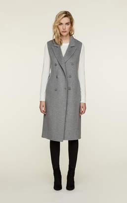 Soia & Kyo LAVERNE slim fit double face wool vest