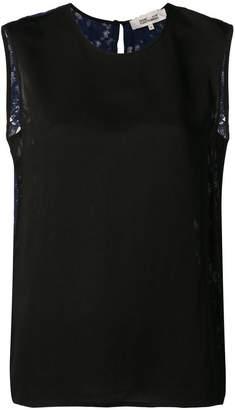 Diane von Furstenberg lace tank top