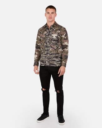 0e096bec Camo Shirt Jacket - ShopStyle Australia