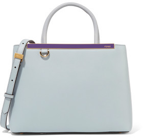 Fendi 2jours Petite Leather Shoulder Bag
