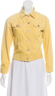 Etoile Isabel Marant Collared Corduroy Jacket