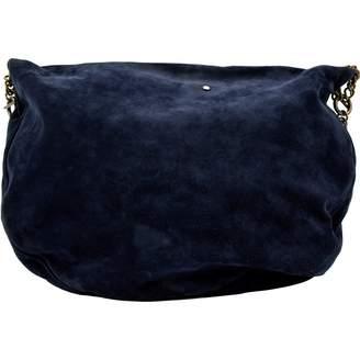 Sonia Rykiel Navy Suede Handbag