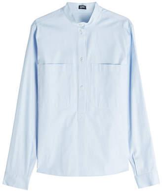 Jil Sander Navy Cotton Shirt
