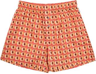 Paul Smith Orange Peaches Boxers $65 thestylecure.com