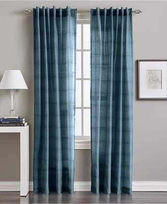 "CHF Preston Horizontal Stripe 50"" x 84"" Tab Top Window Panel"