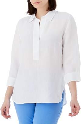 Olsen Santorini Linen-Blend Tunic