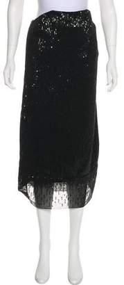 Trina Turk Sequin Midi Skirt