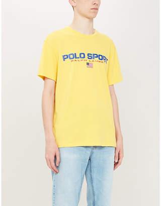 Polo Ralph Lauren print cotton-jersey T-shirt