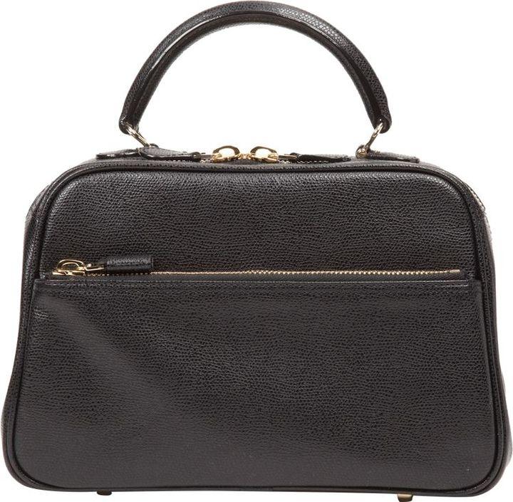 Valextra Medium S Bag-Black
