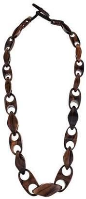 Viktoria Hayman Wood Chain Necklace