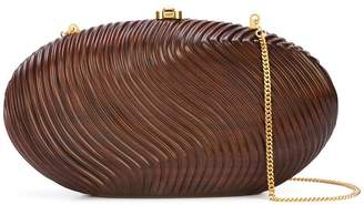 Rocio rounded shaped clutch bag
