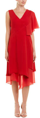 Yigal Azrouel Ruffle A-Line Dress