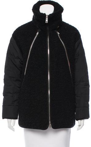 MonclerMoncler Wool & Mohair-Blend Coat
