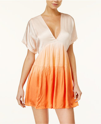 Free People Sun Up Ombré Tiered Dress $98 thestylecure.com