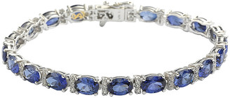 LeVian Suzy Diamonds Suzy Silver 19.02 Ct. Tw. Gemstone Bracelet