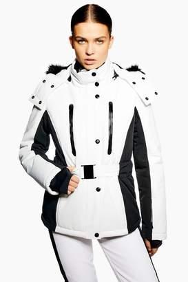 Topshop Monochrome Colour Block Jacket by SNO