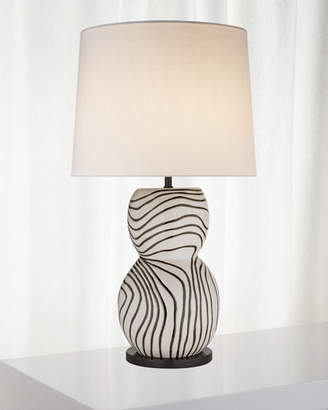 Kelly Wearstler Balla Large Hand-Painted Table Lamp
