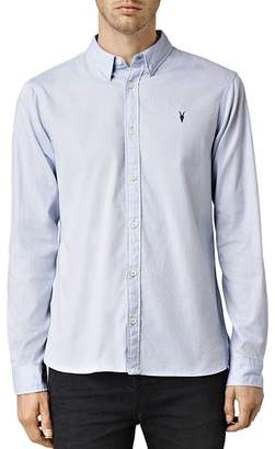 AllSaints Redondo Slim Fit Button-Down Shirt