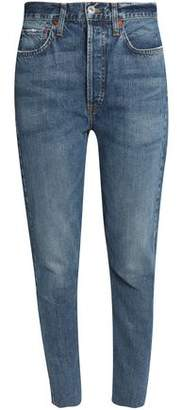 Levi's Re/Done By Distressed High-Rise Skinny Jeans