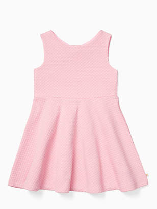 Kate Spade Toddler textured vivian dress