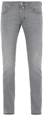 Jacob Cohen Mid Rise Slim Leg Jeans - Mens - Grey