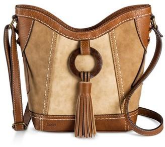 Bolo Women's Bolo Crossbody Handbag - Saddle/Stone $34.99 thestylecure.com
