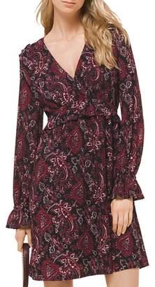 MICHAEL Michael Kors Paisley Ruffle Dress