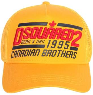DSQUARED2 1995 Brothers Canvas & Mesh Trucker Hat