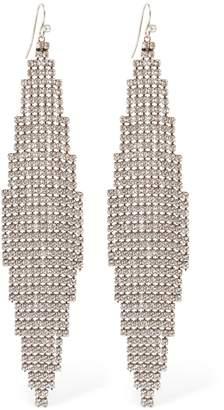 Saint Laurent Dormeuse Mach Drop Earrings
