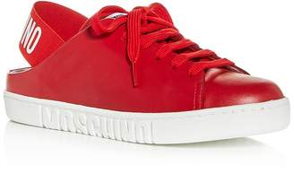Moschino Women's Slingback Low-Top Sneakers - 100% Exclusive