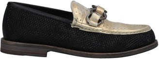 Leather Crown Loafers - Item 11608709KP