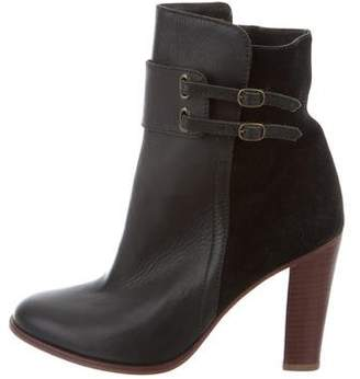 Tila March Leather Ankle Boots