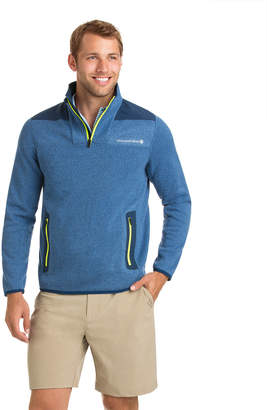 Vineyard Vines Performance Sweater Fleece Shep Shirt
