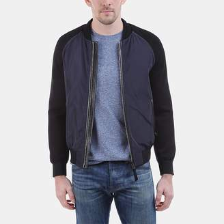 Mackage Granger Color Block Bomber Jacket