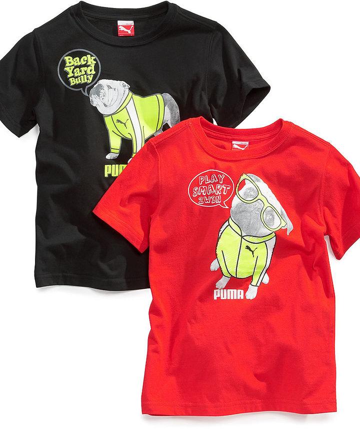 Puma Kids T-Shirt, Little Boys Graphic Tee