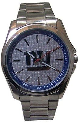 Avon 新しいYork Giants Watch リリースメンズ3手シルバー腕時計