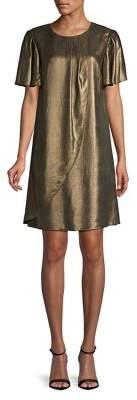 Halston H Bell-Sleeve Shift Dress