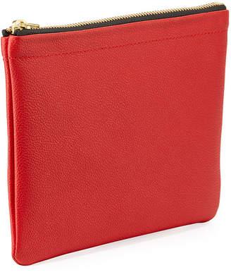 Tea & Tequila Vegan Flamingo Clutch Bag, Red