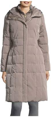 Cole Haan Women's Hooded Quilted Down Coat