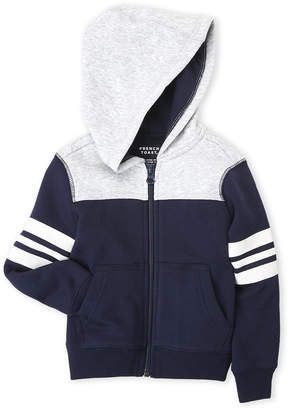 French Toast (Toddler Boys) Color Block Zip-Up Fleece Hoodie