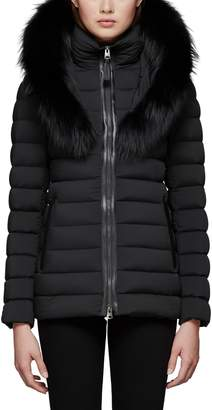 Mackage Kadalina Down Jacket with Genuine Fox Fur Trim