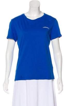 Fiorucci Short Sleeve Graphic Print T-Shirt