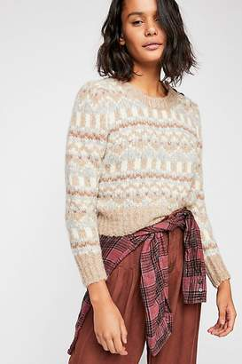 LoveShackFancy Cropped Pullover Sweater