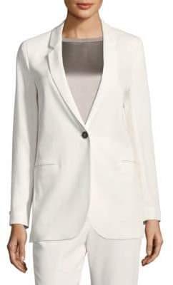 Peserico Button-Front Blazer