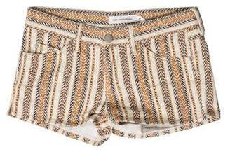 Etoile Isabel Marant Print Denim Shorts